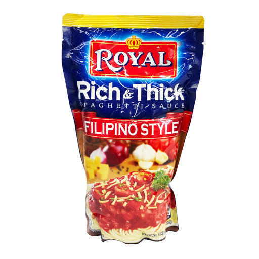 Package Royal Rich & Thick Spaghetti Sauce - Filipino Style 35.27oz image 1
