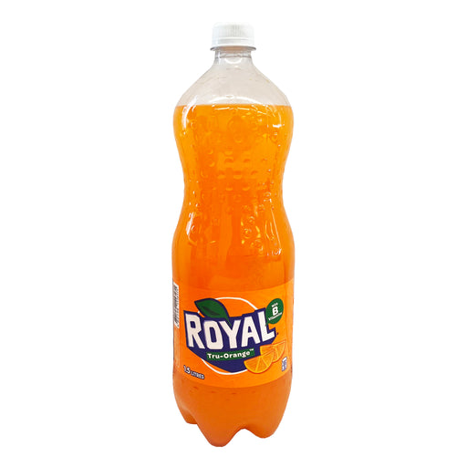 Royal Tru-Orange In Bottle 50.72oz Front
