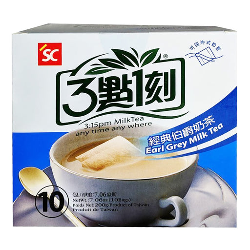 SC 3:15PM Earl Grey Milk Tea 7.06oz Image 1