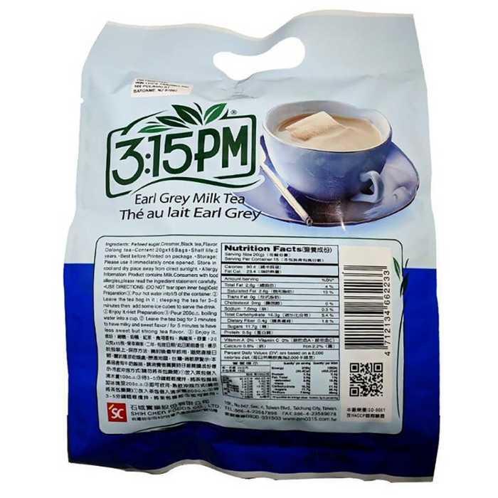 SC 3:15PM Earl Grey  Milk Tea Family Pack 10.58oz