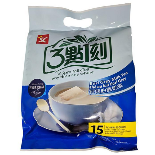 SC 3:15PM Earl Grey  Milk Tea Family Pack 10.58oz Image 1