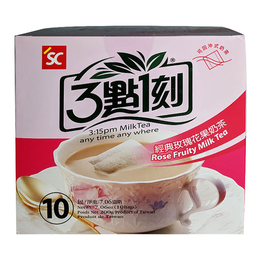 SC 3:15PM Rose Fruity Milk Tea 7.06oz Image 1