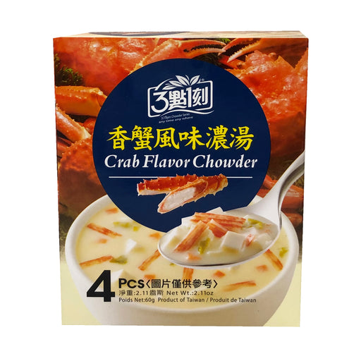 SC 3:15PM Crab Flavor Chowder 2.11oz Image 1