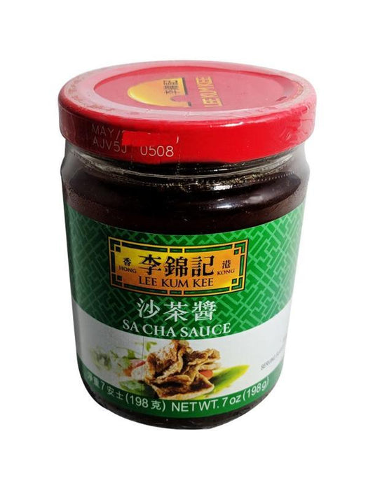 Package Lee Kum Kee Sa Cha Sauce 7oz Front