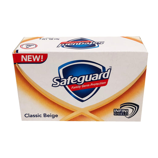Package Safeguard Soap Classic Beige 4.5oz Front