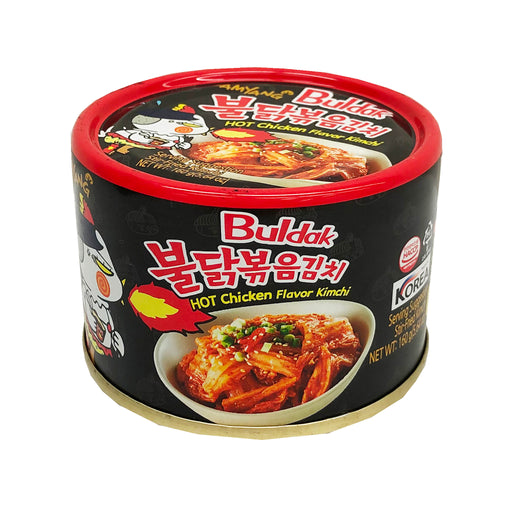 Samyang Hot Chicken Flavor Kimchi In Can 5.64oz Front