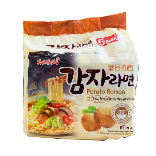 Samyang Potato Ramen 5 Pack 21.15oz Front