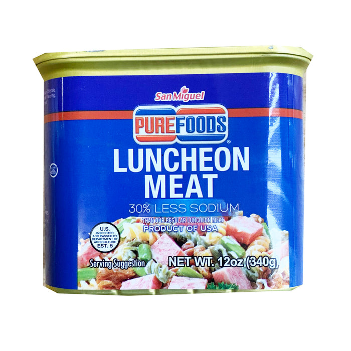 San Miguel Purefoods Luncheon Meat 30% Less Sodium 12oz
