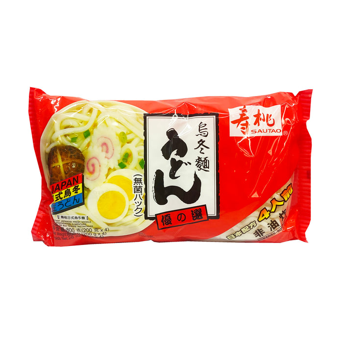 Package Sau Tao Instant Japanese Fresh Udon 28oz Front