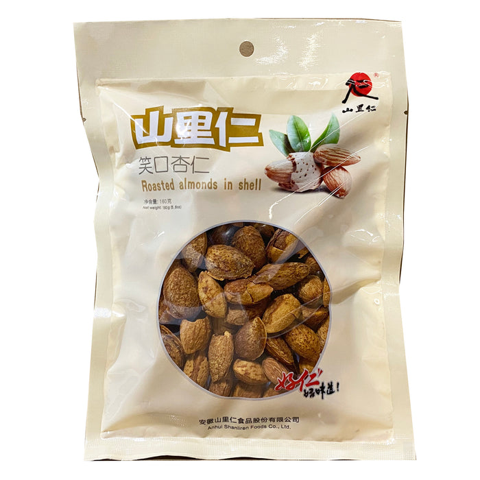 Shan Li Ren Roasted Almond In Shell 5.6oz
