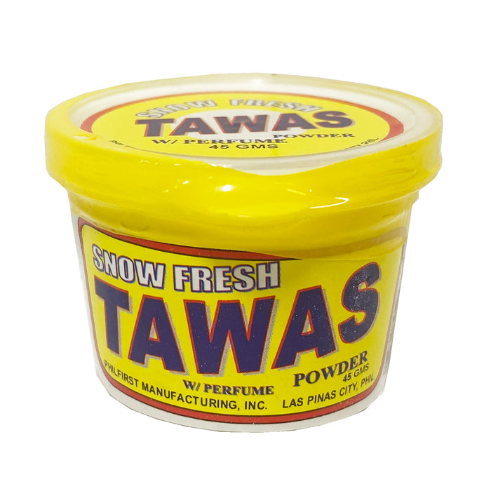 Snow Fresh Tawas Powder with Perfume 1.58oz Back