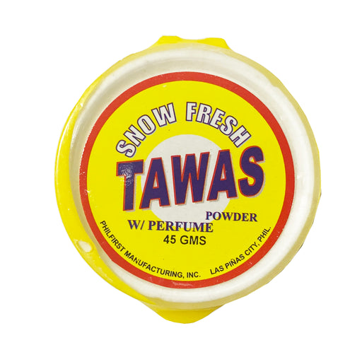 Snow Fresh Tawas Powder with Perfume 1.58oz Front