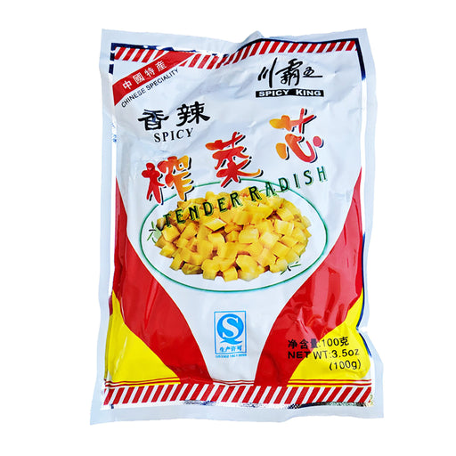 Package Spicy King Tender Radish - Original Flavor 3.5oz Front