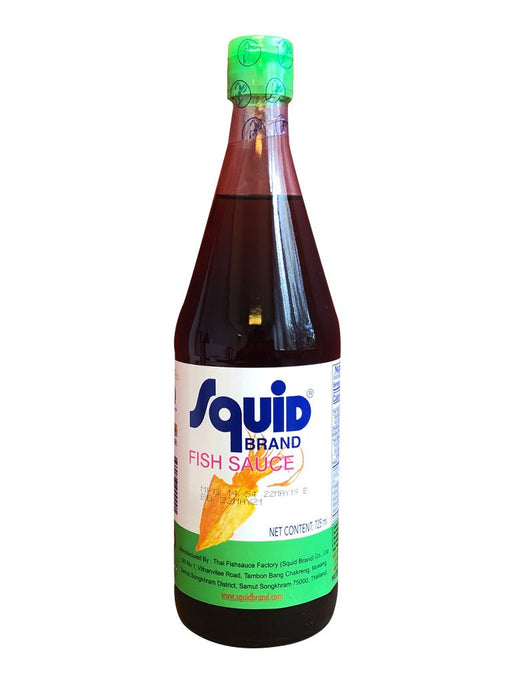 Squid Fish Sauce 25oz Front