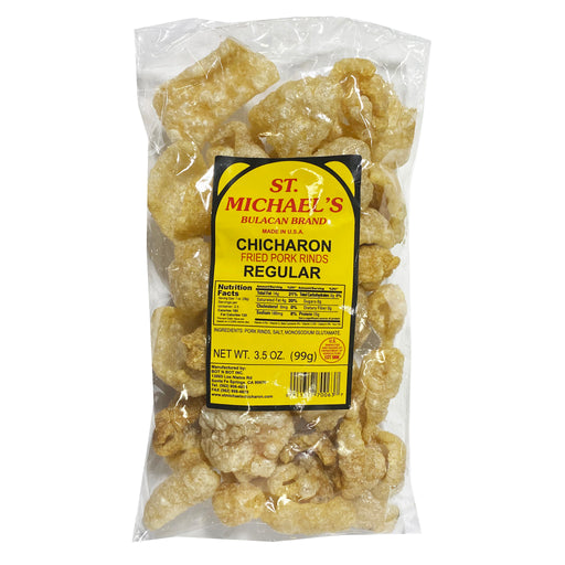 St. Michael's Chicharon Fried Pork Rinds 3.5oz Image 1