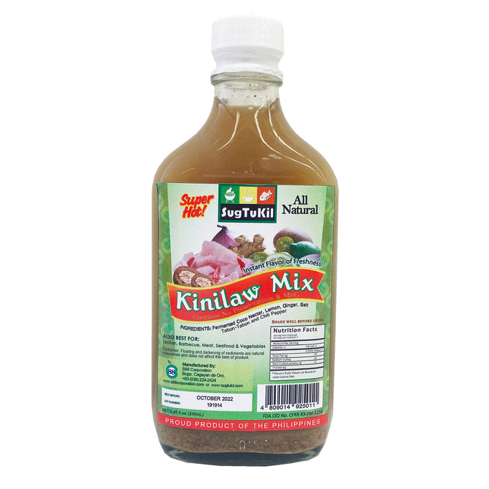 SugTuKil Kinilaw Mix Super Hot 8.45oz