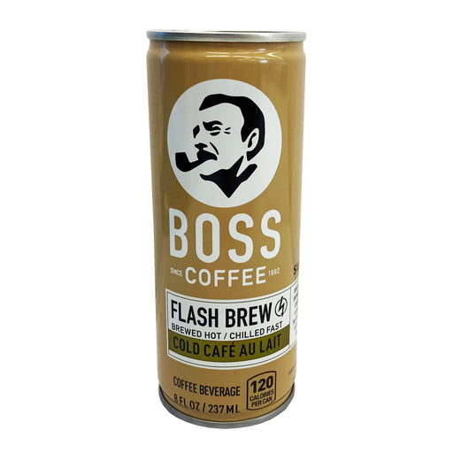 Package Suntory BOSS Coffee - Cold Cafe Au Lait 8oz Front