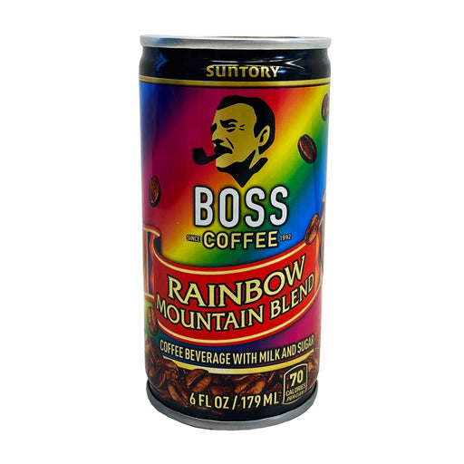 Package Suntory BOSS Coffee - Rainbow Mountain Blend 6oz Front