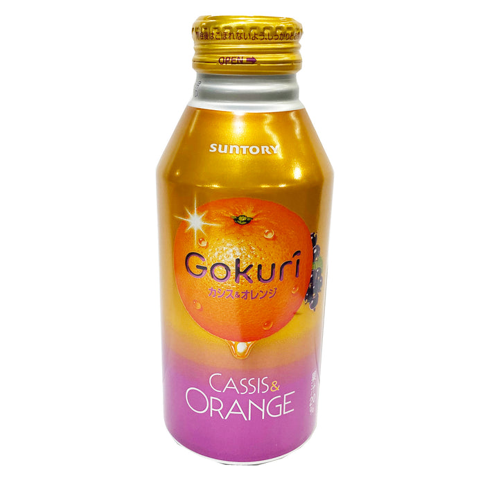 Package Suntory Gokuri Cassis And Orange Drink 13.52oz Front