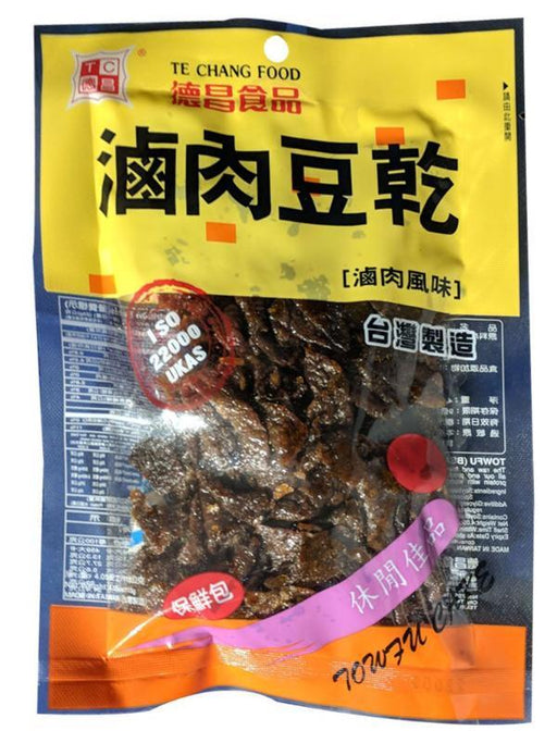 Package Te Chang  Bean Curd Cake Pork Flavor 4oz Front