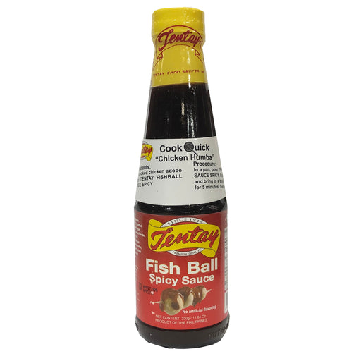 Tentay Fish Ball Sauce - Spicy 11.64oz Front