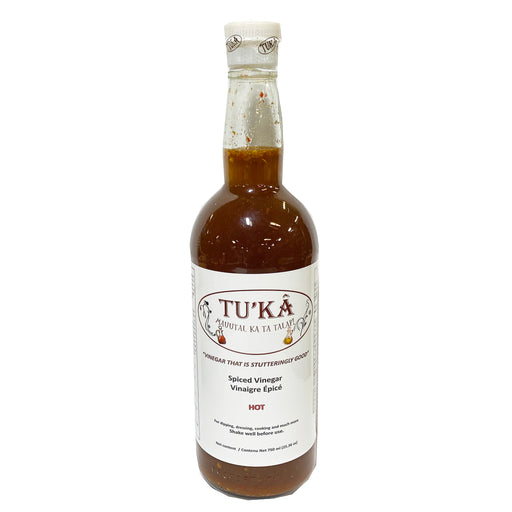 Tuka Spiced Vinegar Hot 25.36oz Front