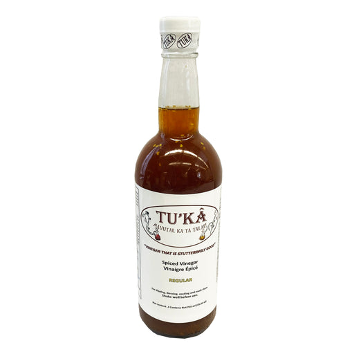 Tuka Spiced Vinegar Regular 25.36oz Front