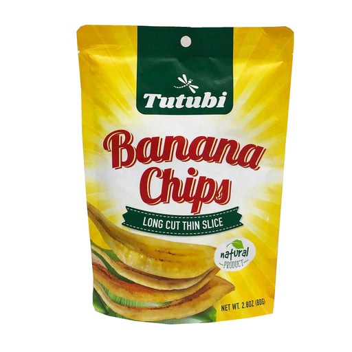 Tutubi Banana Chips 2.80oz Image 1