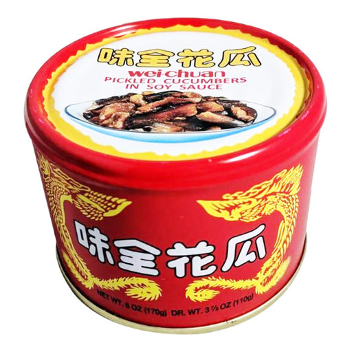 Wei Chuan Pickled Cucumbers In Soy Sauce 6oz Image 1