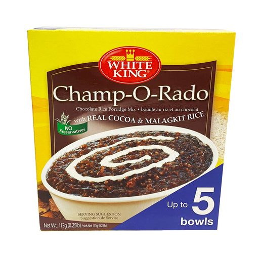 White King Champorado Small Mix 3.9oz Front