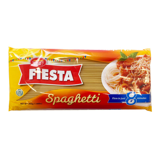 Package White King Fiesta Spaghetti Noodles 31.74oz Front