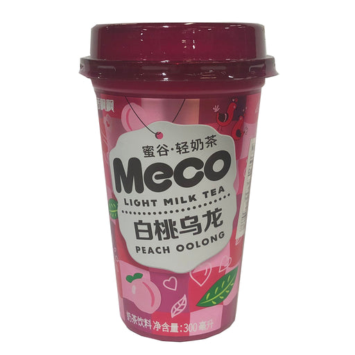 Package Xiang Piao Piao Meco Light Milk Tea Peach Oolong 10.14oz Front