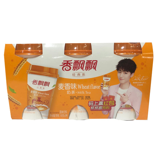 Package Xiang Piao Piao Milk Tea Wheat 3cups 2.82oz Front