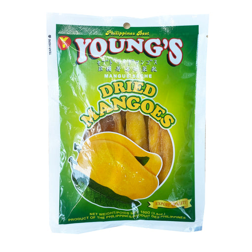 Young's Dried Mangoes 3.5oz Image 1