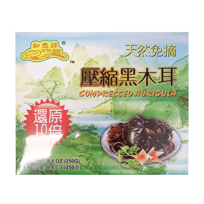 Yu Yee Compressed Black Fungus 8.8oz Front