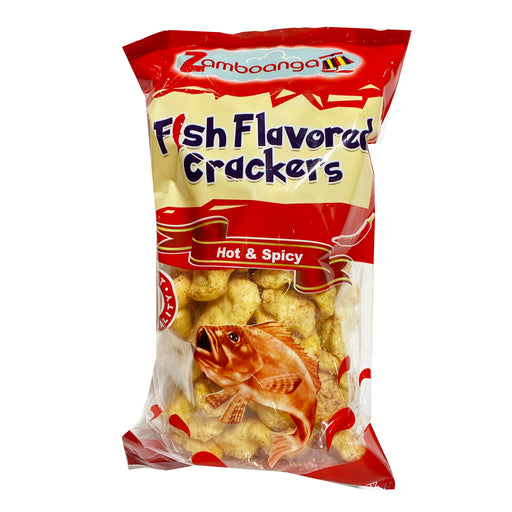 Zamboanga Fish Cracker - Hot And Spicy 3.53oz Image 1