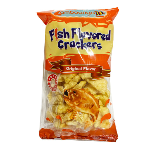 Zamboanga Fish Cracker - Original 3.53oz Image 1