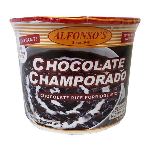 Alfonso's Chocolate Champorado 1.94oz Front
