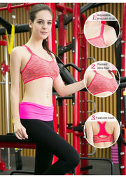 Seamless Running Yoga Bra