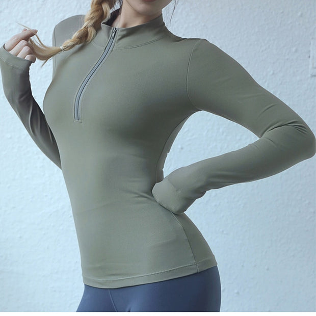 Half-Zip Sports Sweatshirt