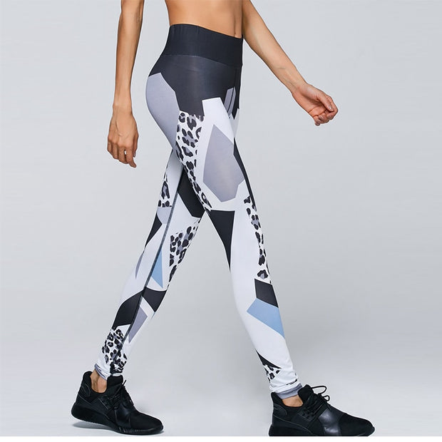 Geometrical Fitness Tights