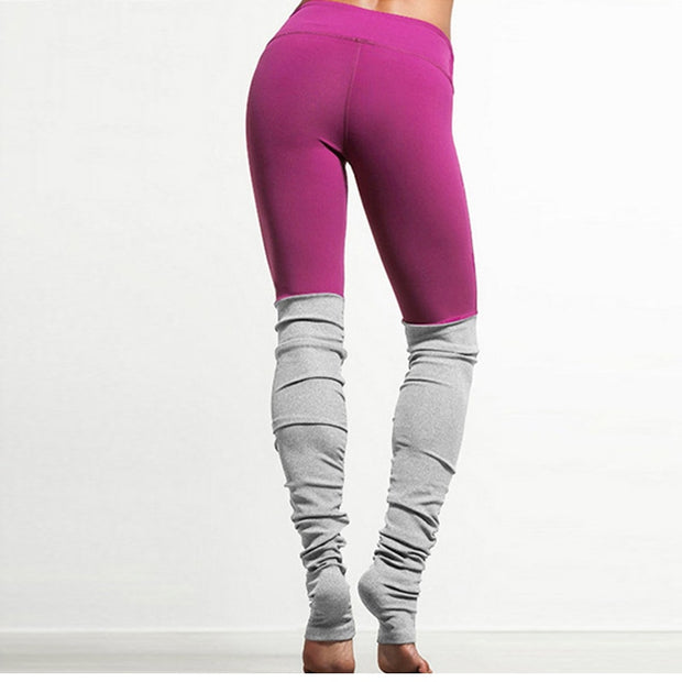 Patchwork Sports Leggings