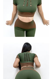 High-Waist Ivy Yoga Set