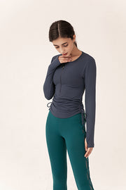 Minerva Drawstring Long Sleeves