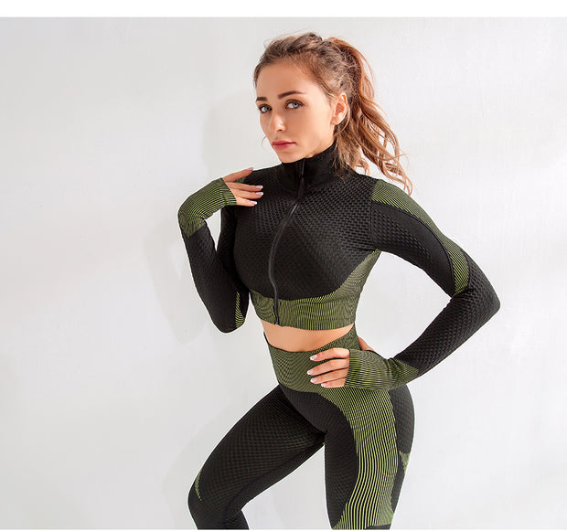 Push Up Tracksuit Set
