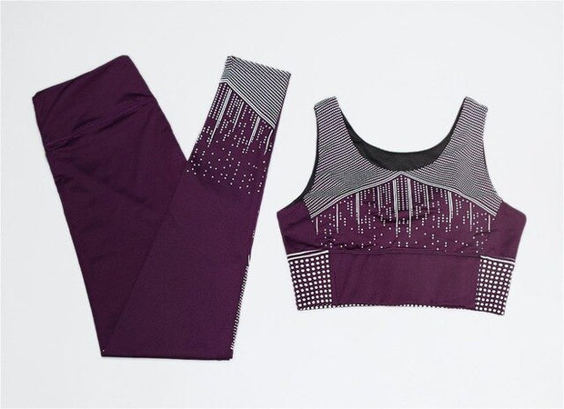 Empress Studded Yoga Set