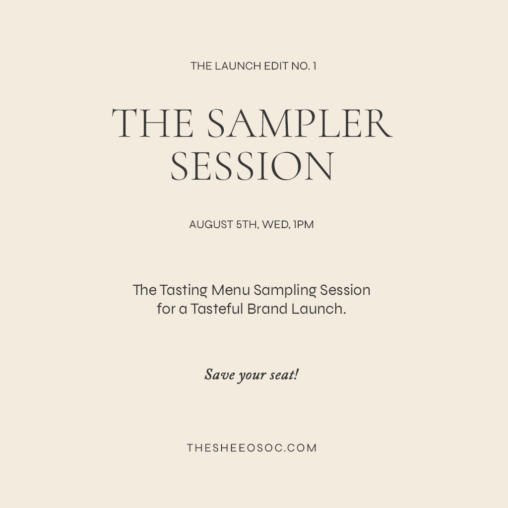 The Sampler Session