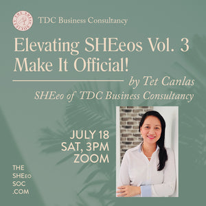 Elevating SHEeos vol. 3: Make it official! by Tet Canlas