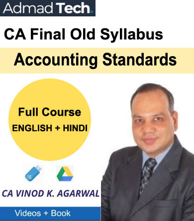 CA Final Accounting Standards Full Old Course by Vinod Kumar Agarwal