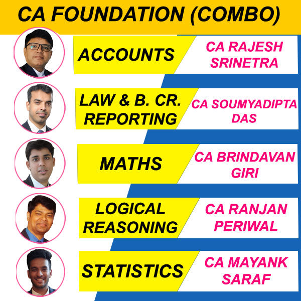 CA Foundation All Subjects Combo Full Course by Edushine Team